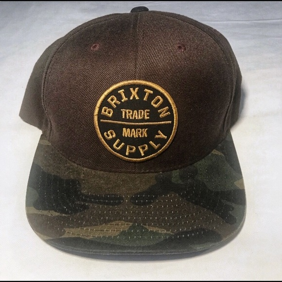 7fd10babad906 Brixton Other - BRIXTON SUPPLY ARMY FATIGUE SNAP BACK